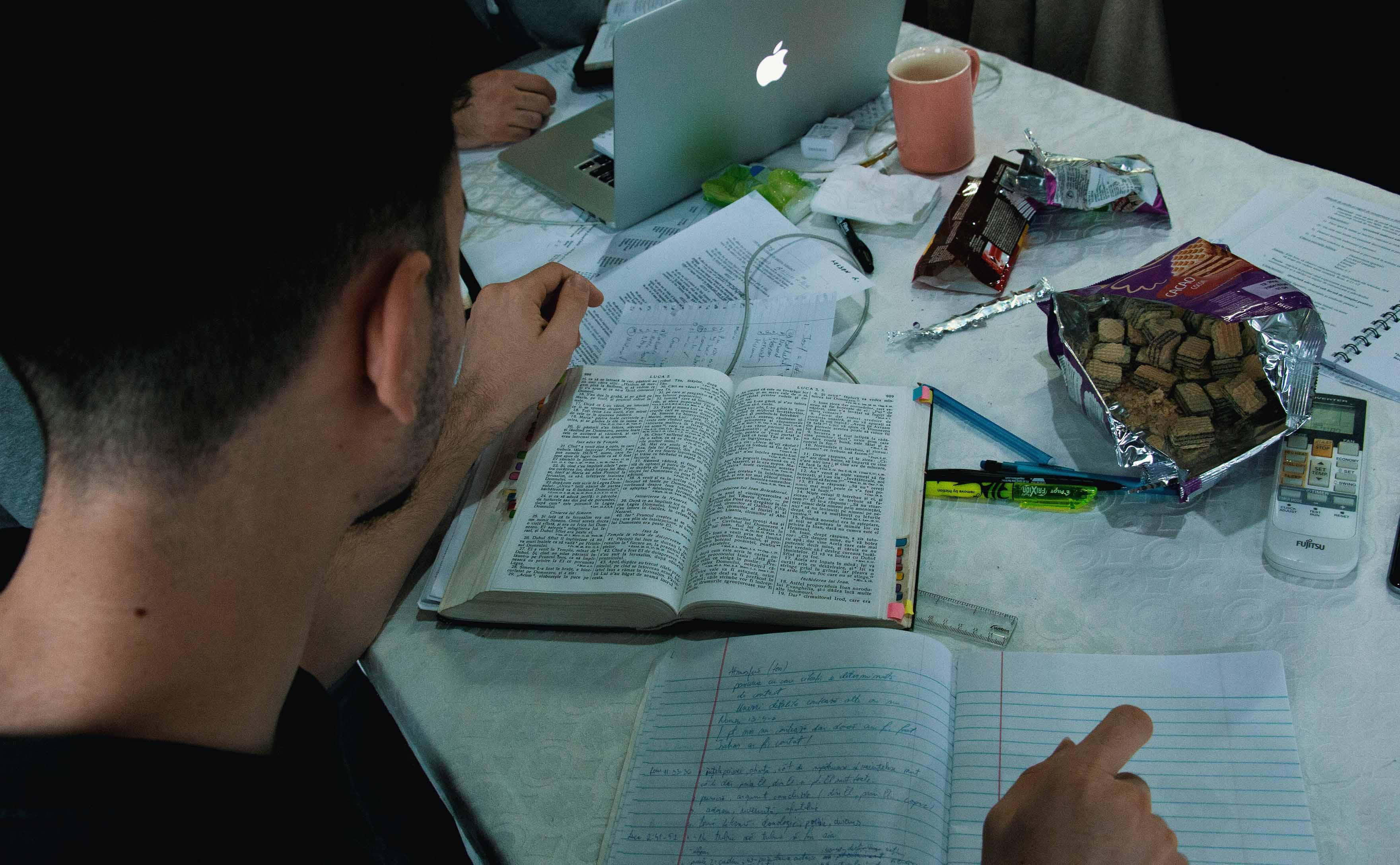 boy bible study