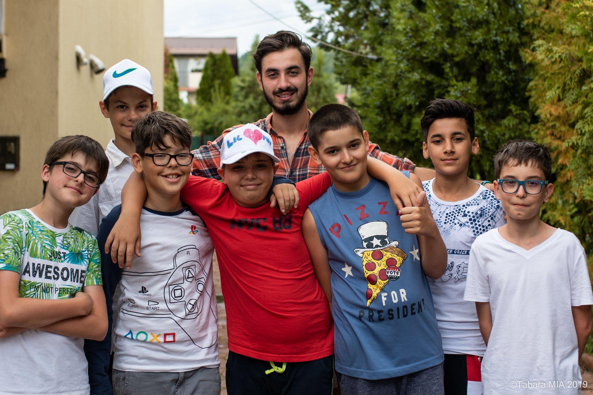 child camper group